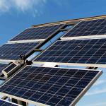 Strom aus Sonnenenergie mithilfe von Photovoltaik und dem Photoeffekt in Solarzellen
