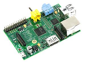Raspberry Pi (Revision Model B)