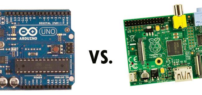 Arduino vs. Raspberry Pi